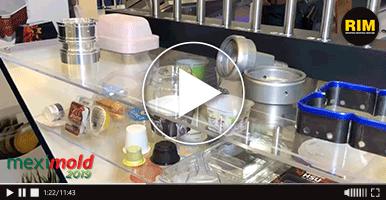 Exo-s, fabricante de piezas plásticas y moldes, presente en Expo Meximold 2019