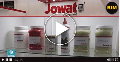 Adhesivos de Jowat de México exhibidos en MEM Industrial 2020