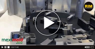 Meusburger muestra sus equipos para fabricación de moldes en Expo Meximold 2019