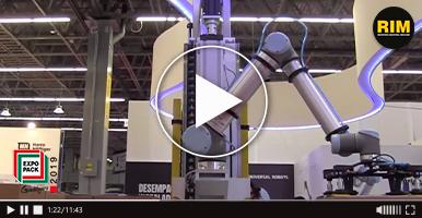 Universal Robots presenta cobots para paletizaje colaborativo en Expo Pack Guadalajara 2019